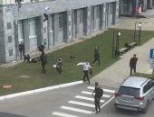 هروب الطلبة من الهجوم المسلح