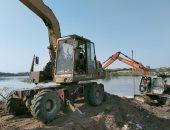 إزالة تعديات على حرم النيل وأراضى زراعية وبناء مخالف