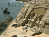 مراحل نقل معبد أبو سمبل