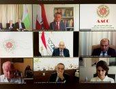 جانب من الحضور في الاجتماع الذى نظمته سفارة مصر لدى النمسا