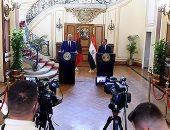 رئيس الوزراء ونظيره الألبانى