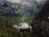 تصميم السيارة الطائرة