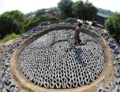 صناعة الطوب فى الصين
