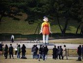 تمثال دمية الحبار طولة 4 أمتار