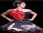 فستان مستوحى من لوحة بيكاسو
