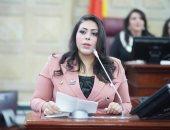 النائبة مرثا محروس عضو مجلس النواب عن تنسيقية شباب الأحزاب والسياسيين