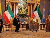 المهندس إبراهيم محلب رئيس مجلس الوزراء فى زيارتة للكويت