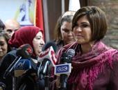 سوزان القلينى عميدة كلية الآداب بجامعة عين شمس