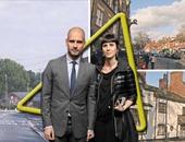 بيب جوارديولا وزوجته كرستينا سيرا