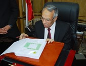 محافظ شمال سيناء اللواء عبد الفتاح حرحور