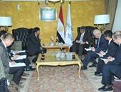 وزير النقل خلال لقائه كاجاوا سفير اليابان بالقاهرة
