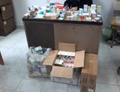 مصادرة أدوية بصيدلية بالفيوم