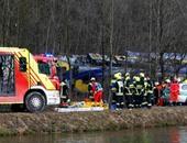 حادث قطار جنوب ألمانيا