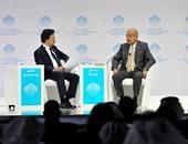 رئيس الوزراء يلقى كلمة مصر فى مؤتمر القمة العالمية الحكومية بدبى