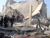 قصف حلب _ أرشيفية