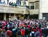 مظاهرة لطلاب الإخوان بجامعة الاسكندرية