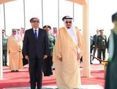 جانب من لقاء الرئيس السيسى والملك سلمان
