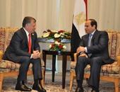 الرئيس عبد الفتاح السيسي والملك عبد الله الثاني بن الحسين