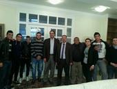 سفير مصر بالمجر يستقبل البعثة
