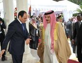 الرئيس السيسي وعاهل البحرين