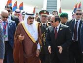الملك سلمان بن عبد العزيز والرئيس عبد الفتاح السيسى