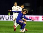 مباراة كروتيا والنرويج