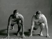 مشهد استعراض العضلات الهزلى