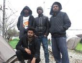 لاجئين بمخيم إيدومينى - أرشيفية