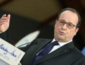 الرئيس الفرنسى فرانسوا أولاند