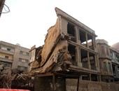 مصرع عامل فى انهيار أجزاء من عقار بالإسكندرية - أرشيفية