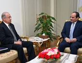 الرئيس عبد الفتاح السيسى و المهندس شريف إسماعيل رئيس الوزراء