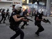مظاهرات فى اسطنبول