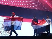 طلاب مصر المشاركون فى المسابقة الدولية