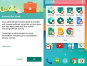 تطبيق Android for Work App