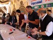 اللواء ممدوح شعبان، مدير عام جمعية الأورمان والكابتن نادر السيد