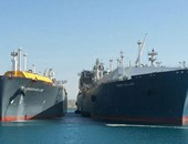 السفن بميناء السخنة