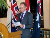 نيل هوكنز السفير الاسترالى بالقاهرة