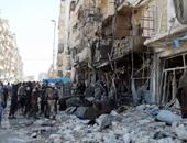 غارات على أحياء سكنية فى سوريا