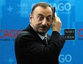 الهام علييف رئيس اذربيجان