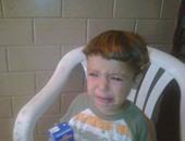 طفل يبكى ـ صورة أرشيفية