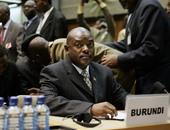 الرئيس البوروندي بيير نكورونزيزا