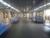 قطار المترو المكيف بخط المرج