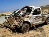 حادث انقلاب سيارة - أرشيفية