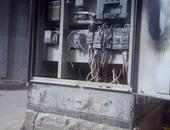 إخماد حريق فى محول كهرباء - أرشيفية