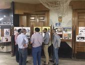 """نقيب الصحفيين يفتتح معرض كاريكاتير بالنقابة بعنوان """"الصحافة مش جريمة"""""""