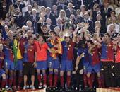 تتويج فريق برشلونة بدورى ابطال اوروبا