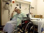سيدة فى المستشفى