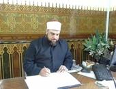 الشيخ محمد العجمى وكيل أوقاف الإسكندرية
