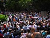 تظاهرات الصحفيين