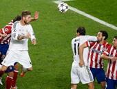 مباراة سابقة بين ريال مدريد وأتلتيكو مدريد